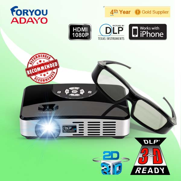 Pocket Projector 3D for Hollywood movie