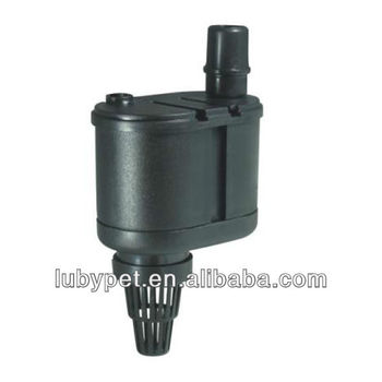 Waterfall small submersible aquarium fish tank water pump for Small fish filter
