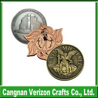 high quality custom Metal replica old Coin with good price