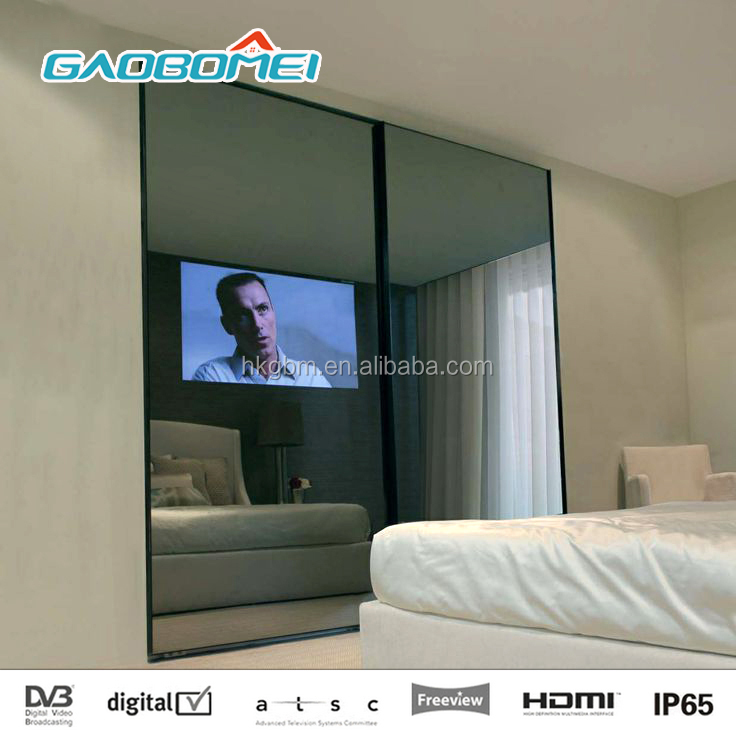 "47"" 1080p Magic Mirror TV Display Smart Android Interactive Mirror Television"
