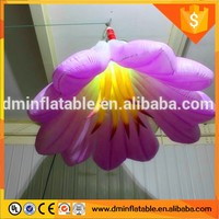 Decorated with flowers durable inflatable flower for wedding ceremony