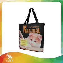 Promotional Disposable Hot and Cold Nylon Cooler Bag for Frozen Food