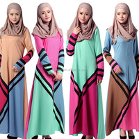new fashion design long women dress muslim jubah 2016