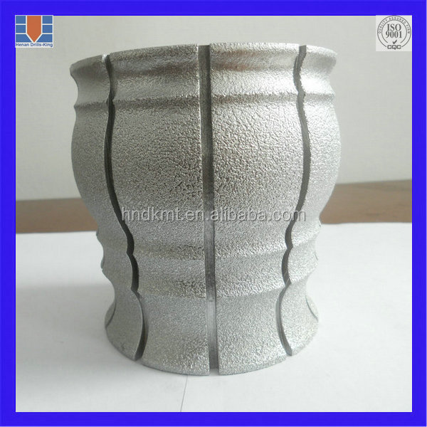 Vacuum Brazed Flat Cup Wheel for stone grinding-stone cutting Diamond Cup Grinding Cutting Wheel