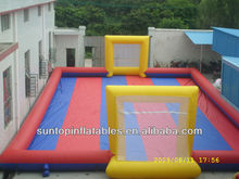 most popular inflatable water soccer field,inflatable water football field