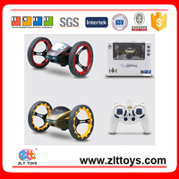 2.4GHz 4CH radio control jumping stunter car jumping car toys with USB