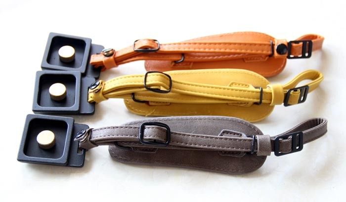 New Design Genuine Leather SLR Camera Hand Strap/Wrist Strap Retail