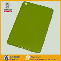 Green Soft TPU Silicone Bumper Case Silicone Bumper Case skin cover for Apple Ipad mini 7.9""