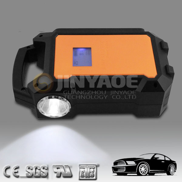 hot flash led light new power tool ce fee rohs power booster jump starter 12v 24v made in china