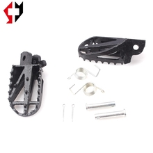 pit dirt mini bike parts stainless steel footpegs