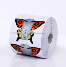 beautiful butterfly shaped nail form & butterfly nail forms & disposable nail form for nail art