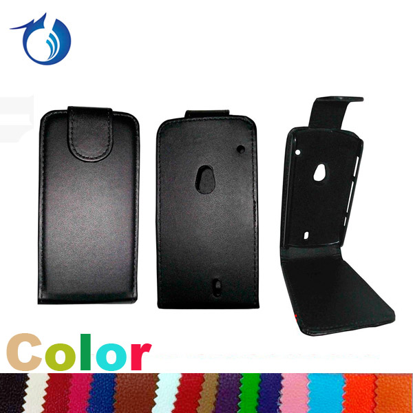 Factory price flip leather case for Sony Ericsson Xperia Neo MT15i