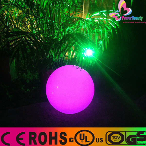2015 LED Solar Power Swimming pool Color changing Ball Floating Light with remote control