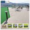 wpc waterproof decking flooring/decking/wpc/Solid Wood Materials/Intertek,SGS,FSC