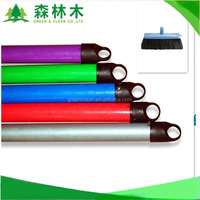 1.2m PVC coated wooden broom handle for plastic broom and mop