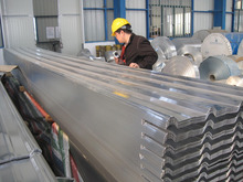 Best Metal Building Materials color coated galvanized corrugated zinc gi steel sheet for roof and wall