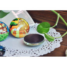 China Supplier hot sale glass crystal resin fridge magnet