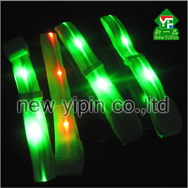 Party remote control flashing colorfulled bracelet, led wristband,light up wristband with your logo fashion wristband