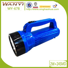 WY-687 LED Rechargeable Hand lamp, Led Portable Lamp Lantern, Rechargeable Handle Torch