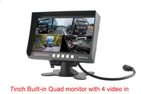 DS-7014s 7inch stand alone monitor with 4 video input