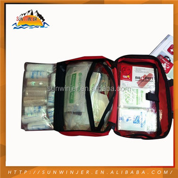 High End China Made Alibaba Sport First Aid Kit Set
