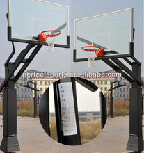 Inground Adjustable Clear View Basketball Hoop/System