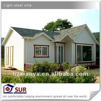 CE certificated light steel prefabricated portable villa