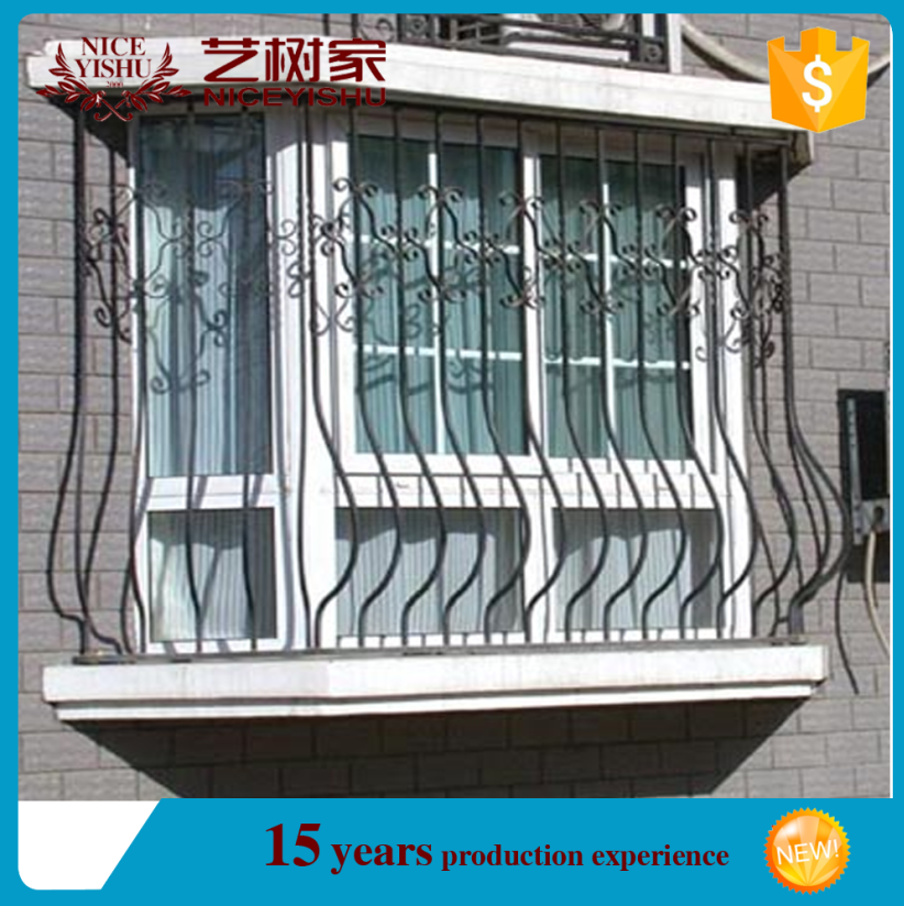 """Iron Material and art,Other Home Decor Type window grill designs/decorative wrought iron window grill"