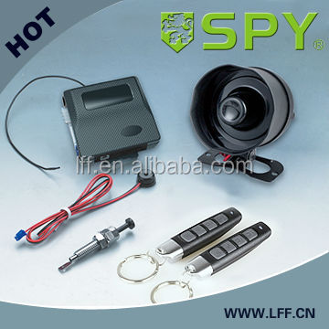 2014 NEW TECHNOLOGY One Way Car Alarm with power window roll up