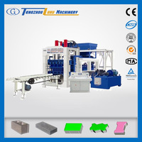 QT6-15C clay solid block forming machine,concrete block machine in nigeria,concrete block making machine for kerbstones