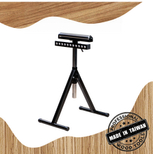 Woodworking Roller and Ball Supported Mobile Stand