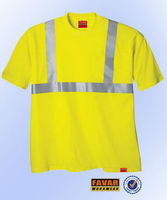 summer 100% cotton short sleeve shirt flame resistant working shirt