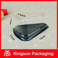 Cake Slice Box, Plastic Triangle Cake Box