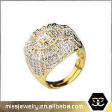 Missjewelry wholesale luxury 1 gram gold diamond ring price in dubai, dubai gold ring designs