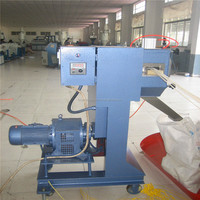 Plastic cold-cut granulating/pelletizing production line PP/PE/ABS/PS recycling machine