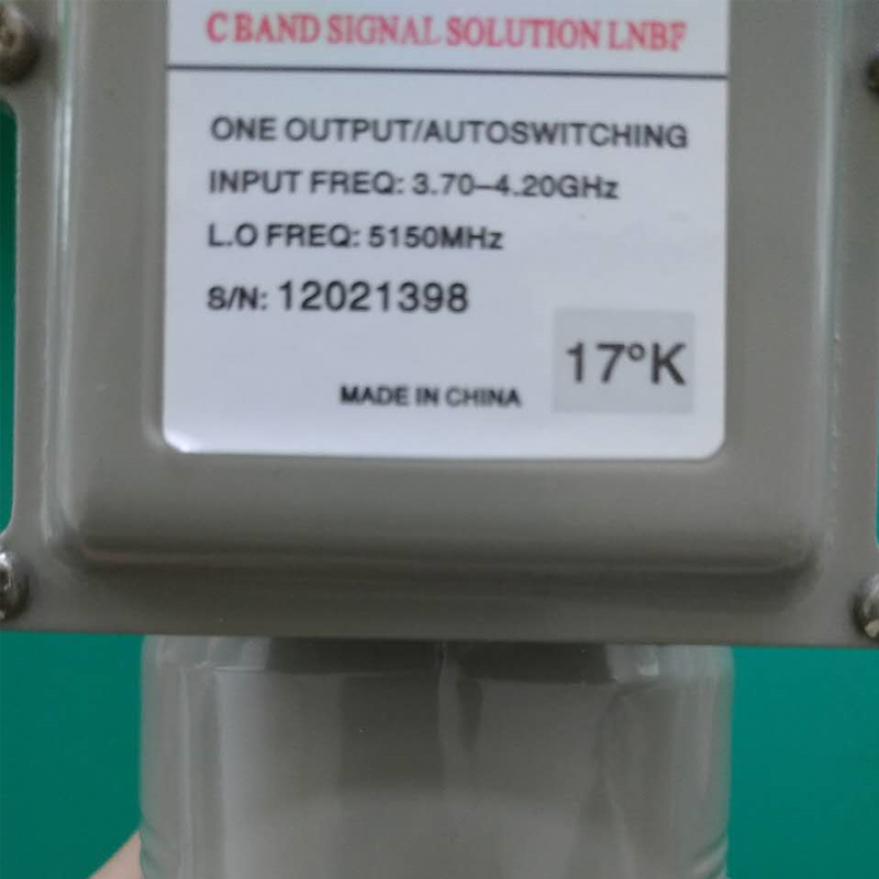 Anti-interference High Gain Single Output Eurostar C Band LNB