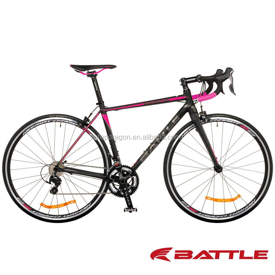 Retail WINDRIDER 500 22 Speed 700C Light Pink Alloy Road Bike / Alloy Road Bicycle