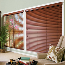 Factory direct colorful basswood vertical blinds for online