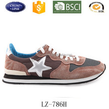 2016 men fashion brand shoes causal pu leather breathable sneaker star