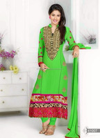 Wholesale Lot Traditional Indian Bandhej Salwar Kameez Suits R6897