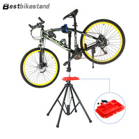 Full Aluminium Alloy Workstand Bike Metal Bike Repair Stand Floor Bike Stand