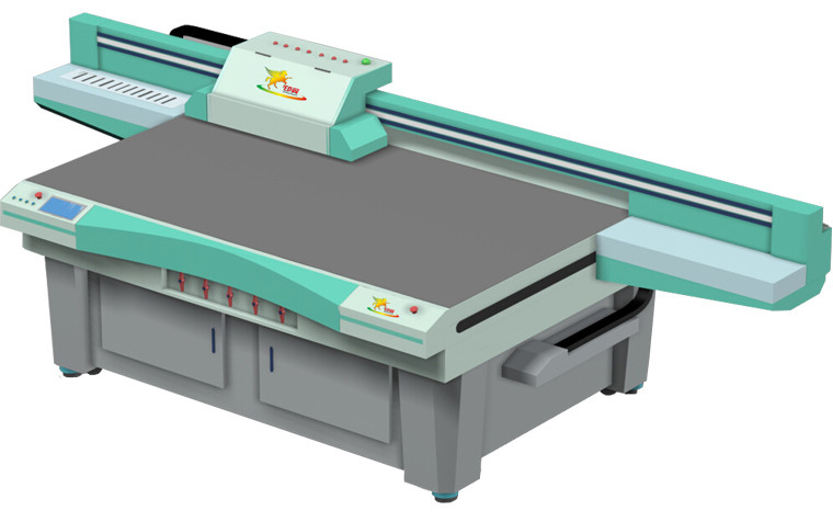 Printer!!cheap price 20sqm/h Professional Super high speed UV flatbed printer