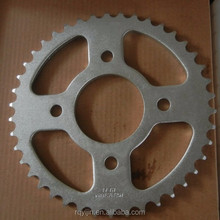 wholesale 1045 steel bajaj discover 135 motorcycle chain sprocket set