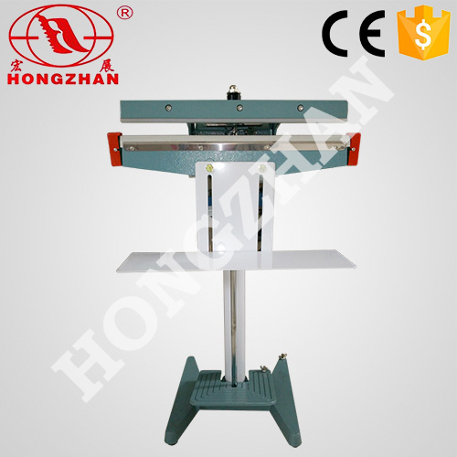 KS-F foot pedal sealer semi automatic pedal impulse heat sealing machine manual heating sealer for food commodity dry fruit