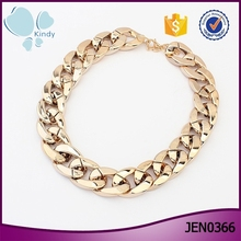 New gold chain design choker chunky chain necklace for women