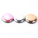 Best selling round shape double sides compact souvenir mini pocket mirror