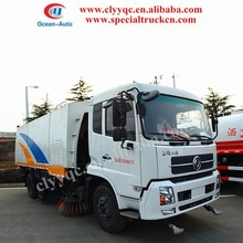 Capcity 10.5 CBM! sweeper vehicle, street vehicle, and road sweeper with wash function