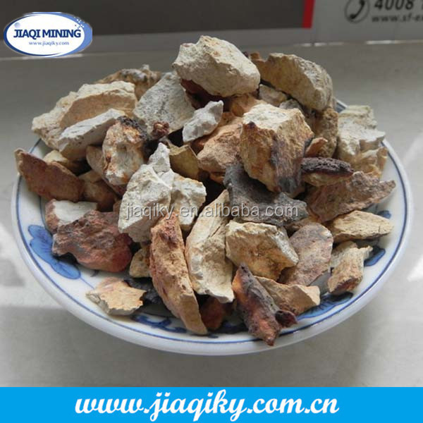 China calcined white raw bauxite price for sale in china