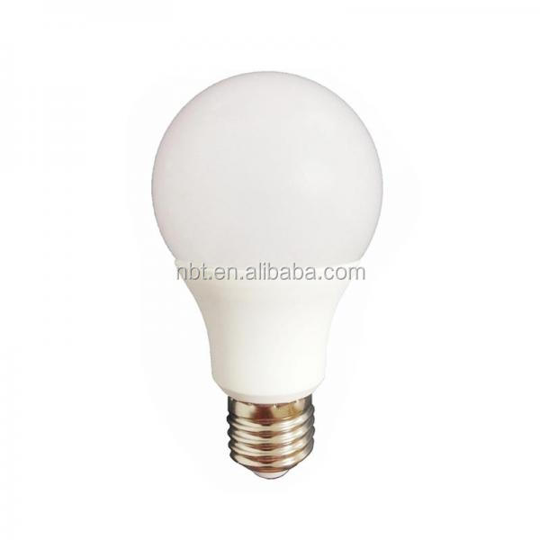 Hot sale aluminum+plastic 5w 7w 9w 12w 15w LED bulb lighting A60 with CE RoHs approved