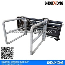 Skid Steer Loader attachments Bale Clamp